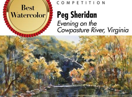 Celebrating Plein Air Accomplishments by Peg Sheridan