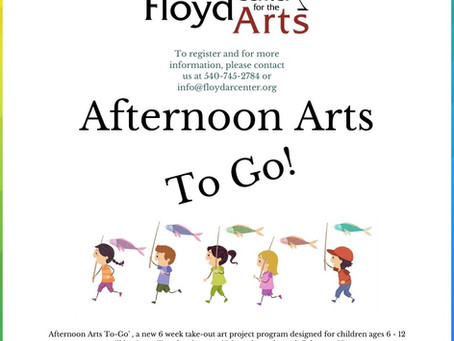 Afternoon Arts To-Go! An Upcoming Youth Art Program