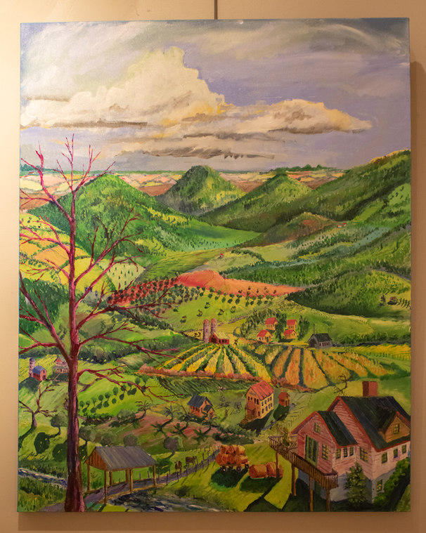"""Landscape #2"" by Mike Gillett"