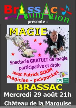affiche magicien