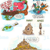 Journaux Disney extrait 6
