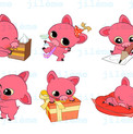 Stickers Cochons
