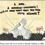 Premier dessin politique calédonien !