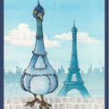 Pigeon Eiffel