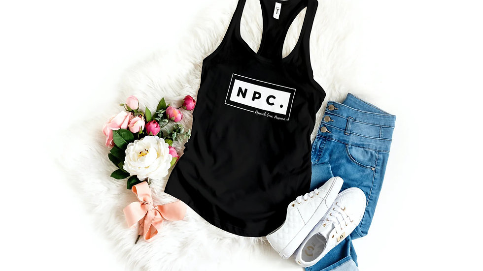 Box of NPC Ladies Black Singlet