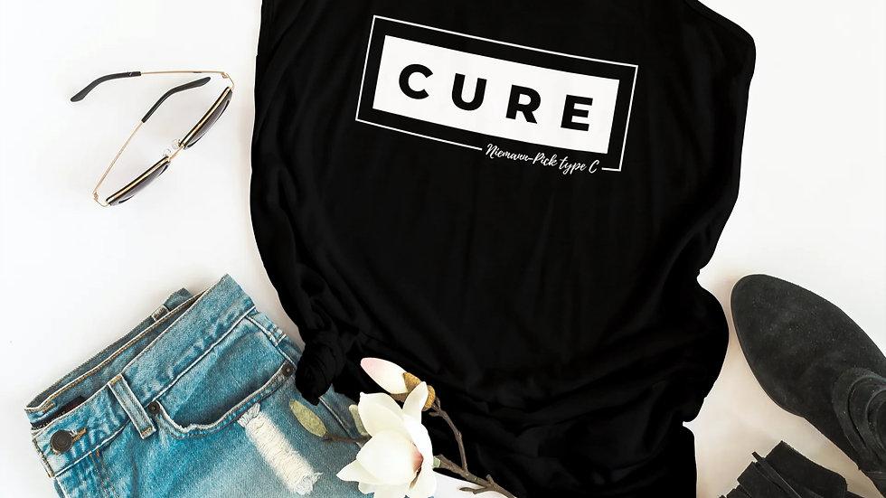 Box of Cure Ladies Black Singlet