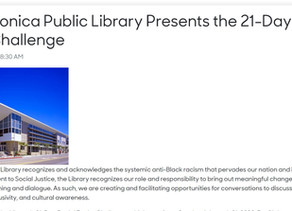 (Registration Link) Santa Monica Public Library Presents the 21-Day Racial Equity Challenge