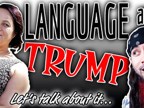 "Talkin' about ""Language in the Trump Era"" book"