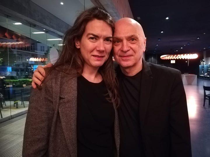 With Bernhard Lang