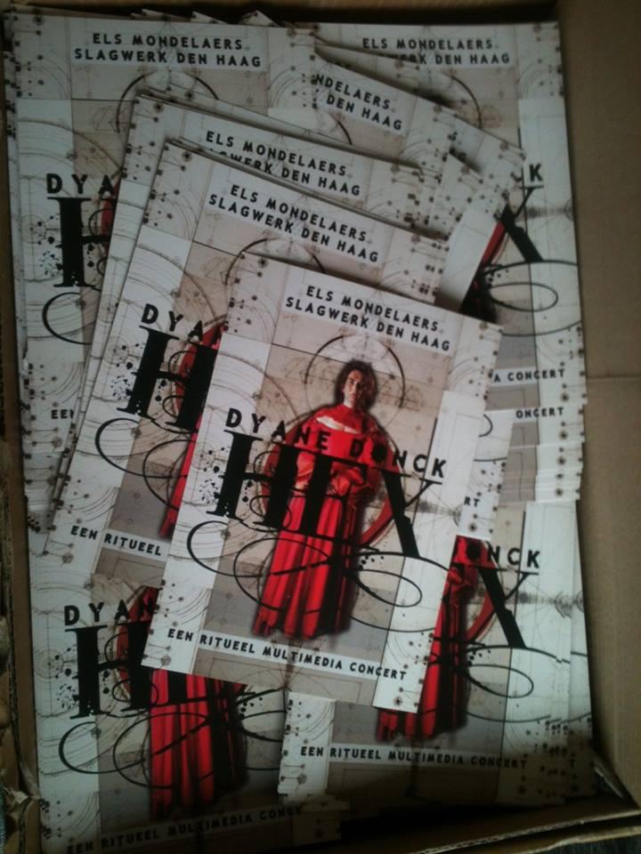 HEX ~ De flyers zijn klaar!