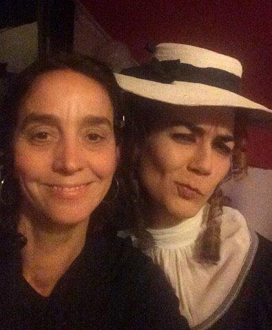 Miss Alexander and Nina