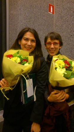 Met componiste Annelies Van Parys