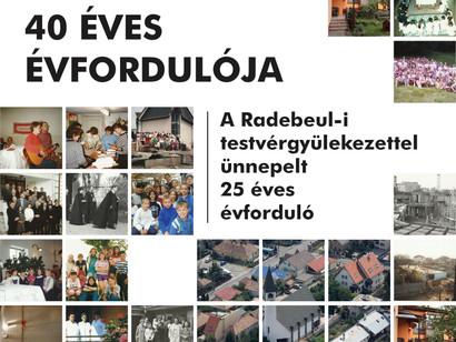 40 ÉVES ÉVFORDULÓ