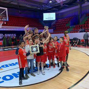 Victoire U11G1 - Mini SBL Cup