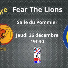 Lions de Genève - Match le 26 décembre à 19h30