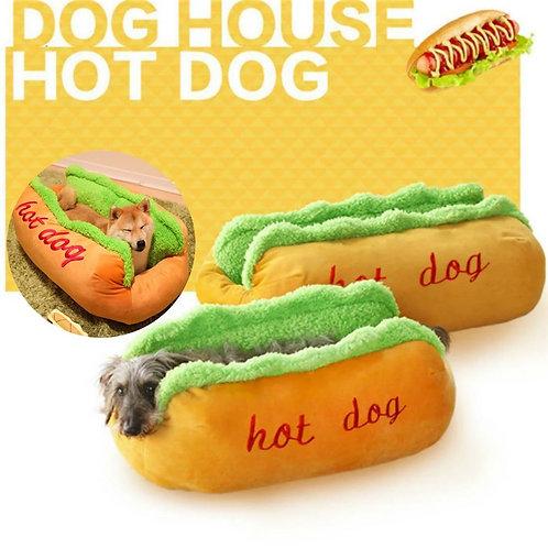 Hot Dog Bed Pet Lounger