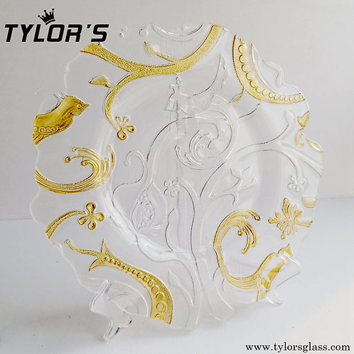 Tylor's Gold Under Plates for Wedding and Event,120pcs/Lot