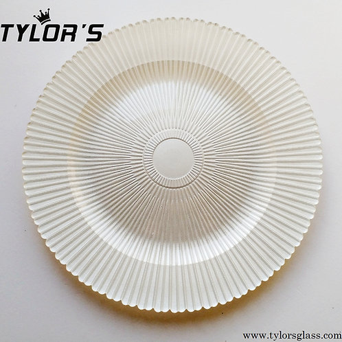 Pearl Wedding Charger Plates in Bulk,120pcs/Lot