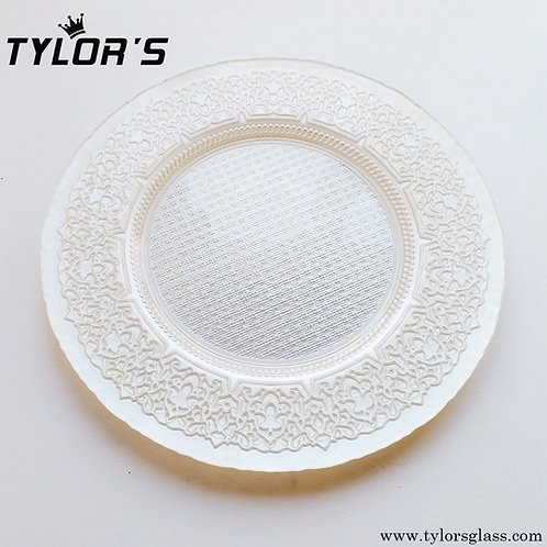 Cheap Decorative Golden Charger Plates,120pcs/Lot