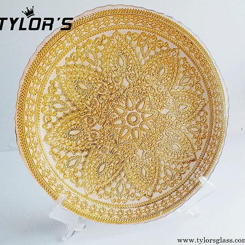 Cheap Gold Wedding Charger Plates Decor, 120pcs/Lot