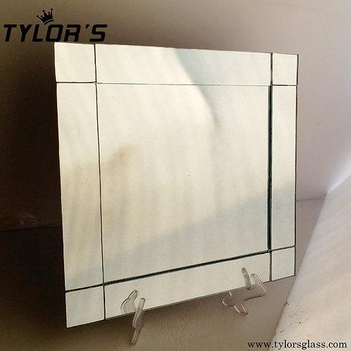 Tylors Bulk Square Mirror Charger Plates,120pcs/Lot