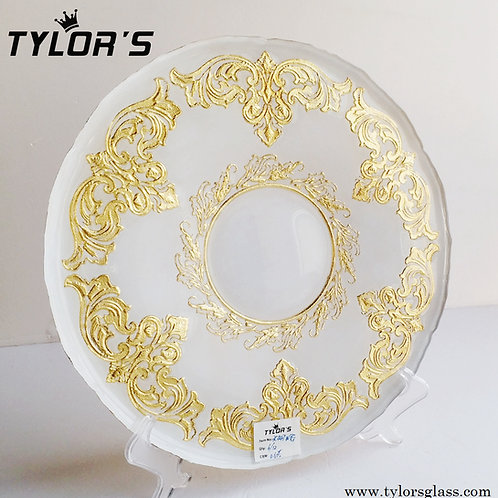 Wholesale Wedding Gold Charger Plates in Bulk,120pcs/Lot