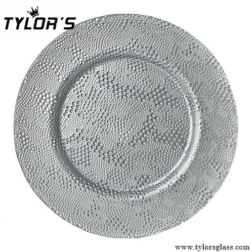 Cheap Bulk Silver Charger Plates,120pcs/Lot