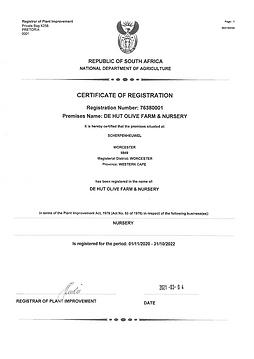 De Hut Registration Certificate 2021.png
