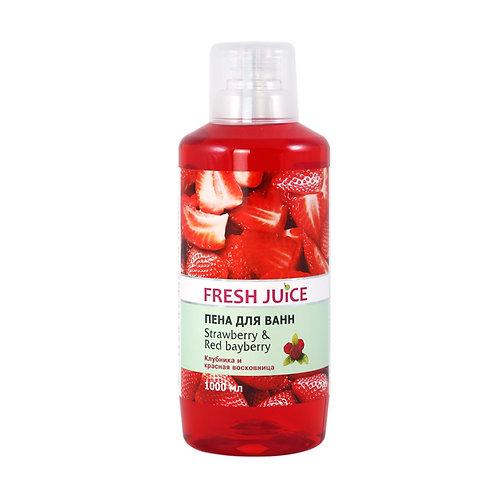 """FJ"" Пена д/ванн Strawberry&Red Bayberry"