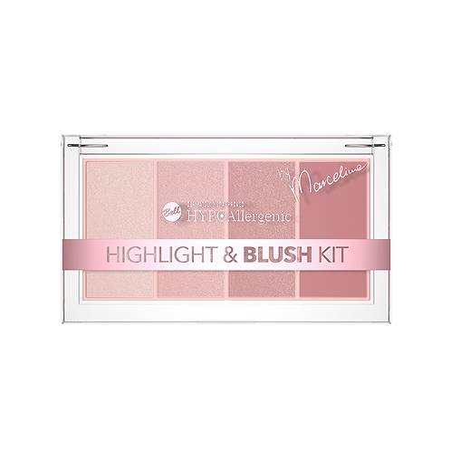 Bell Hypoallergenic Highlight&blush kit