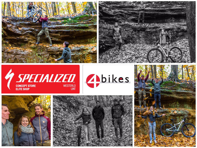 4 Bikes Specialized MTB Team