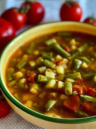 Italienische Suppe von deutscher Oma
