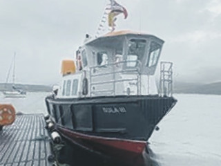 Launched - Sula III will soon be plying her trade at sea