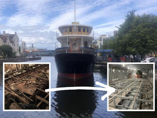 From 'rat hulk' to maiden of Leith Basin