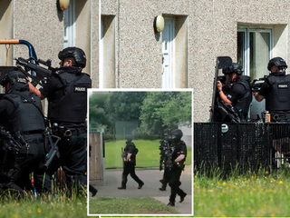 Parents shaken after receiving calls that 'man armed with machete and gun entered Scots nursery'