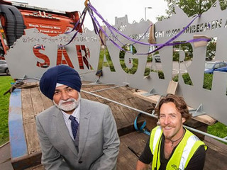 Memorial to Commemorate Sikh Soldiers for Saragarhi Day