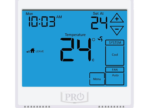 T955  Pro1 Thermostat  5+1+1 Progammable, 3H/2C with 13sq. Inch display