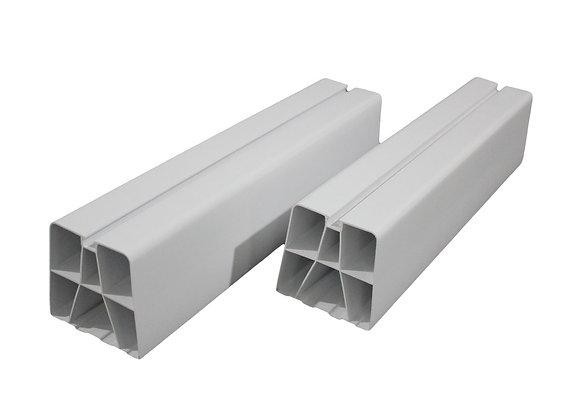 450mm 150kg iMount  PVC Condenser Mount Feet White