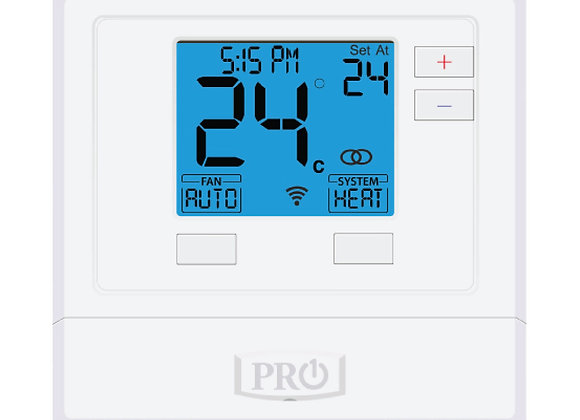 T755  Pro1 Thermostat  5+1+1 Progammable, 3H/2C with 2sq. Inch display