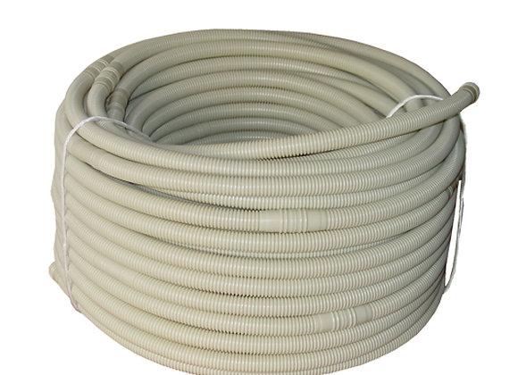 16mm  50m coil  Double layered PVC Flexible drain hose Beige