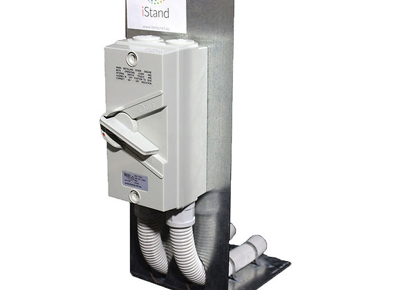 350mm  iStand Zinc Coated Isolation Switch Stands