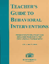 04410 Teacher's Guide to Behavioural Interventions
