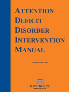 Attention Deficit Intervention Manual 5th Edition 05820