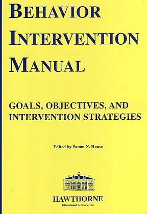 Behaviour Intervention Manual BIM 02520
