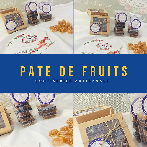 PATE DE FRUITS ARTISANALES
