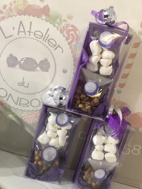 Mini box noisettes et meringues