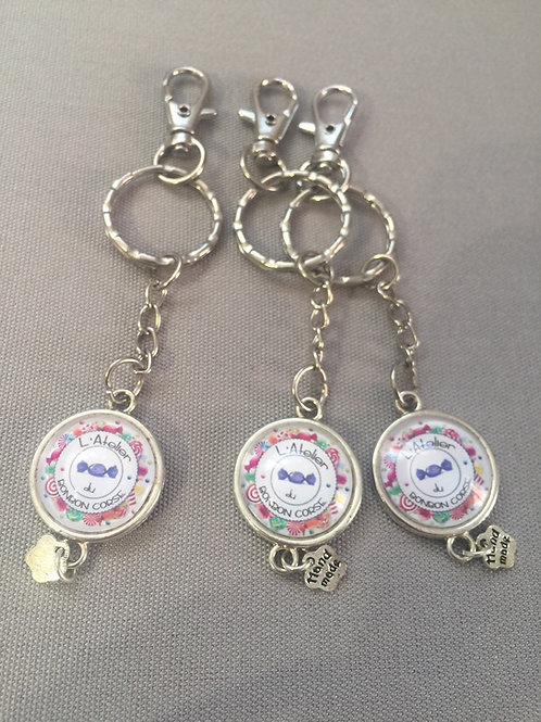 Porte clés logo
