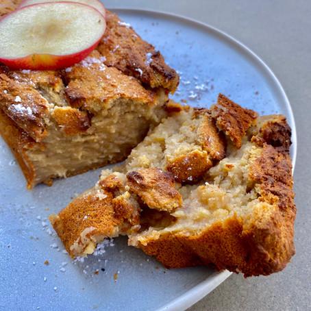 Veganes Apple Pie Brot