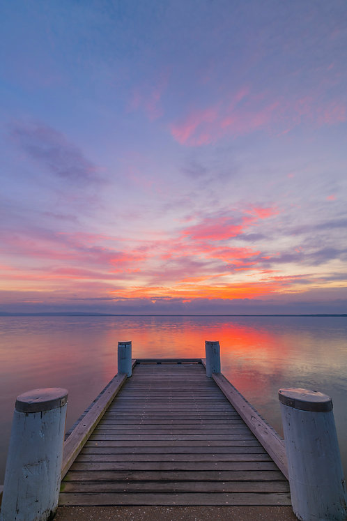 Lake Cootharaba Jetty, Queensland