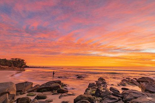 Sunrise at First Bay Coolum, Queensland